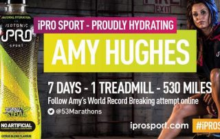 Amy Hughes World Record 7 Day Treadmill Challenge