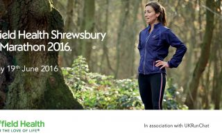 Teaming up with Shrewsbury half marathon & UK Run Chat